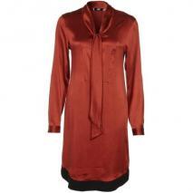 0039 Italy Babette Blusenkleid rost