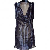 2nd Day Indigo Tie Dye Georgette Dress