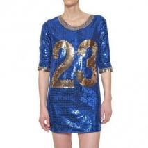 Adidas By Jeremy Scott Jeremy Scott All Over Pailletten Kleid