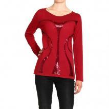 Alberta Ferretti Long sleeve sequin dress