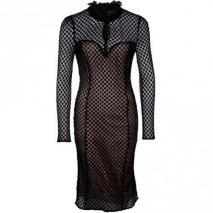 Alice by Temperley Davis Cocktailkleid / festliches Kleid black/nude