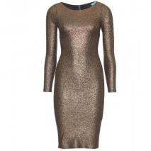 Alice + Olivia Selma Metallic-Kleid