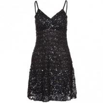 Amor & Psyche Cocktailkleid / festliches Kleid black Glitter Effekt