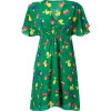Anna Sui Amazone Fruit Print Kleid With Sequin Brooches