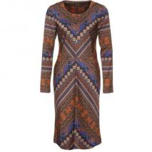 Antik Batik Bajna Cocktailkleid / festliches Kleid brown