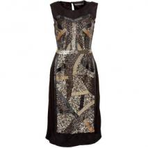Antik Batik Bistro Cocktailkleid / festliches Kleid black