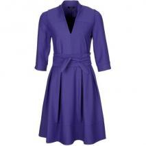 Axara Blusenkleid violett