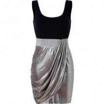 Bailey 44 Navy/Silver Biohazard Dress