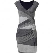 Bailey 44 Silver/Navy Metallic Fear of the Dark Dress