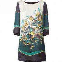 Betty Barclay Jerseykleid mehrfarbig Blumenmuster