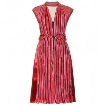 Bottega Veneta Kleid Mit Plissees