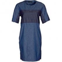 Bruuns Bazaar Blusenkleid blau