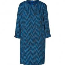 By Malene Birger Ocean Blue/Black Dalooni Dress