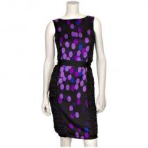Coast Cocktailkleid Dotty Schwarz
