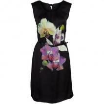 comma, Cocktailkleid / festliches Kleid black Blumenprint