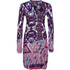 Custo Line Say Iwaki Jerseykleid multicolor