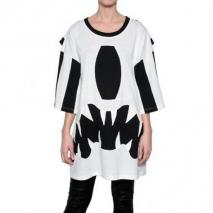 Daniel Palillo Monster Patchwork Jersey Tee Kleid