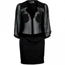 Designers Remix Collection Adrianna Blusenkleid black