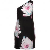Designers Remix Collection Gala Cocktailkleid / festliches Kleid schwarz/pink/türkis