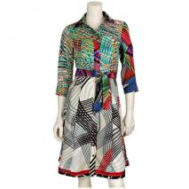 Desigual Kleid Gracey Weiß