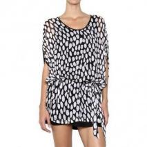 Diane von Furstenberg Bedrucktes Chiffon Kleid