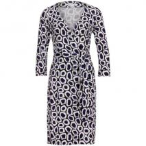 Diane von Furstenberg Kleid New Julian Two blau