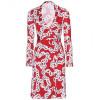 Diane von Furstenberg Wickelkleid New Jeanne Two Rot
