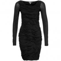 Dkny Jerseykleid black lange Ärmel