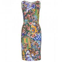 Dolce & Gabbana Etuikleid Mit Print