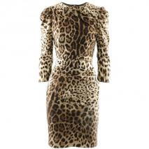Dolce & Gabbana Leo Dress Ruby