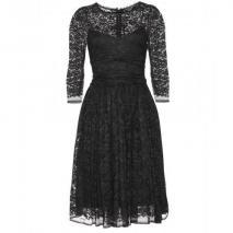Dolce & Gabbana Spitzenkleid Black