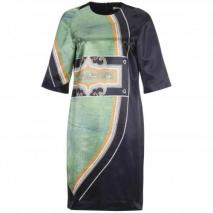 Dries van Noten Kleid Dolik grün