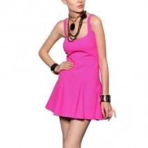 Dsquared Doppel Stretch Woll Kleid