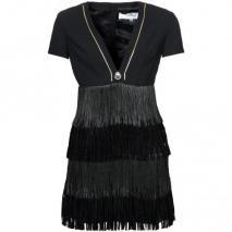 Elisabetta Franchi Cocktailkleid / festliches Kleid black Ausschnitt