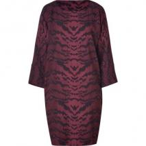 Emilio Pucci Barolo/Black Printed Dress