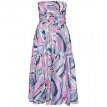 Emilio Pucci Beach Schulterfreies Kleid Mit Graphischem Muster