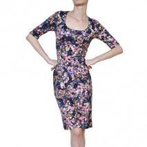 Erdem Bedrucktes Kleid Aus Viskosejersey