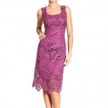 Ermanno Scervino Sleeveless macrame dress