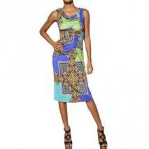 Etro Bedrucktes Kleid Aus Viskosejersey