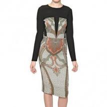 Etro Bedrucktes Viskose Stretch Cady Kleid