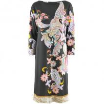 Etro Black Multi Print Dress Pia