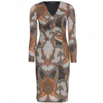 Etro Gerafftes Paisley-Kleid