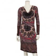 Etro Jersey-Kleid Rot