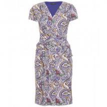Etro Kleid Mit Knoten-Detail Blue