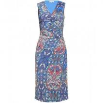 Etro Kleid Mit Paisley-Print Blue
