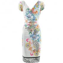 Etro Lilac Multi Print Dress Raffaela