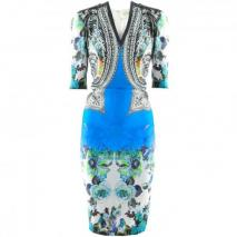 Etro Royal Multi Print Tunic Dress