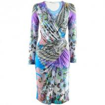 Etro Royal Viola Print Dress