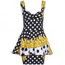 Fairground Jitter Kleid banana rama