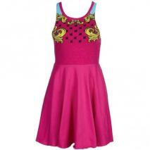 Fairground Scuba Mirror Jerseykleid pink